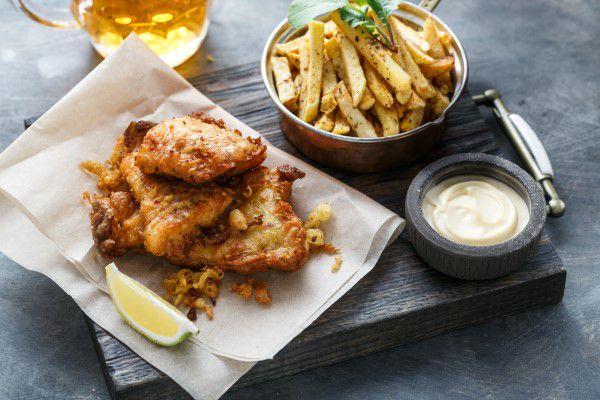 Salt Water Barramundi Fish & Chips On The Menu At Gold Class