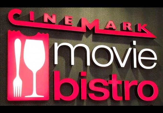 Cinemark Movie Bistro Menu Information