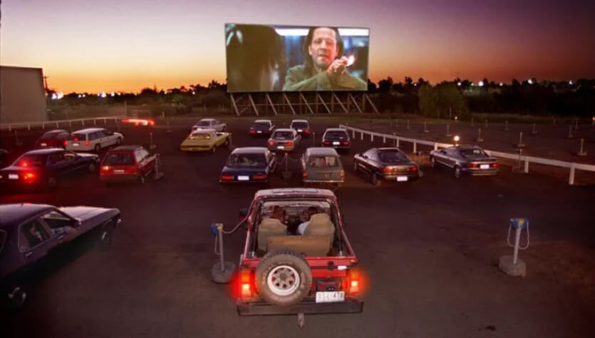 One Of The First Drive In Theatres In Australia