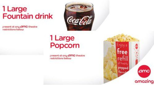 One Of The Popular Amc Popcorn Deals On Ebay