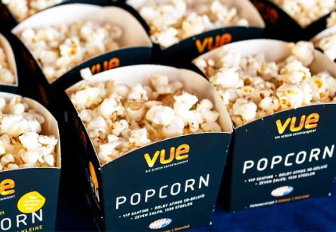 Vue Food & Popcorn Prices in 2019 — Movie Food Prices