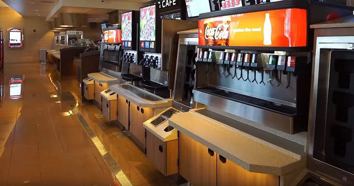 The Fountain Drink Bar At Some Of The New Cinemarks
