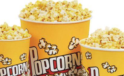 Tubs Of Popcorn From Cineworld Cinemas Uk