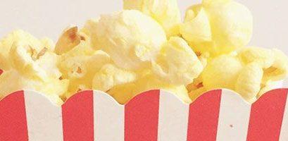 Small Tub Of Popcorn