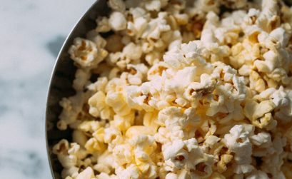 Movie Popcorn Served At Harkins Cinemas