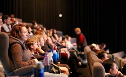 Lots Of People Watching A Movie